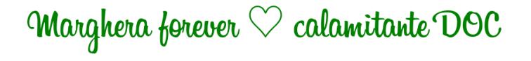 Marghera forever ♡ calamitante DOC verde bandiera