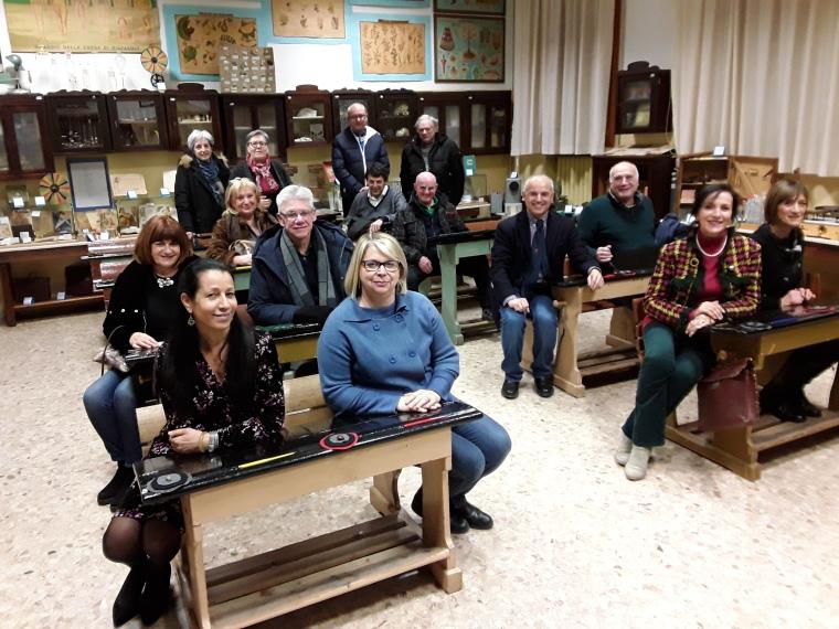 foto comitato alfabeto di marghera in aula del tempo 24 gennaio 2019