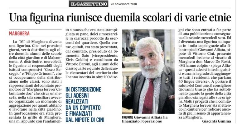 Gazzettino 28 novembre 2018 - Marghera forever.jpg