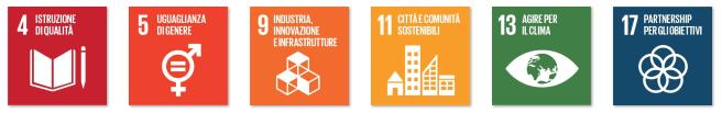 goal SDGS 4, 5, 9, 11, 13, 17 Alfabeto di Marghera forever per lo Sviluppo Sostenibile 2019
