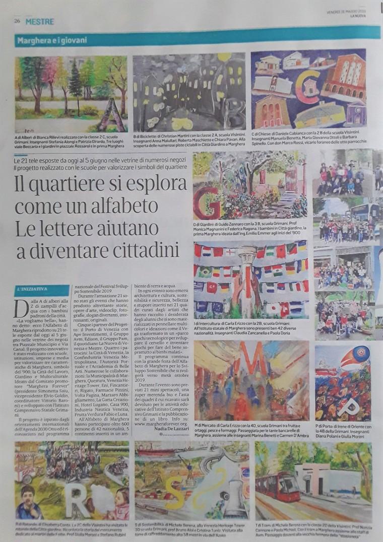 la nuova venezia 31 maggio 2019 - ALFABETO DI MARGHERA pagina 1.jpg