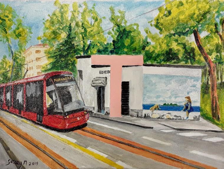 T di Tram - Alfabeto di Marghera