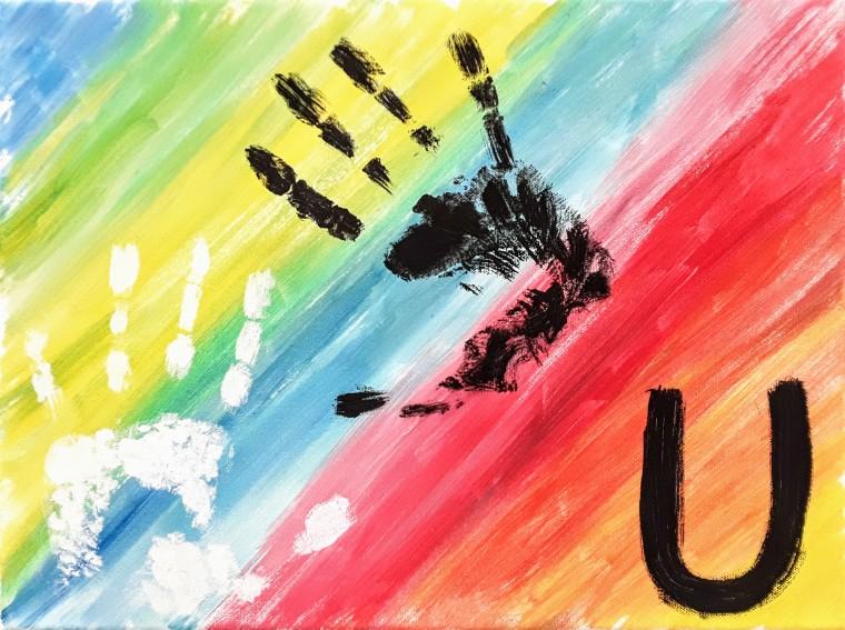 U di Uguaglianza - Alfabeto di Marghera