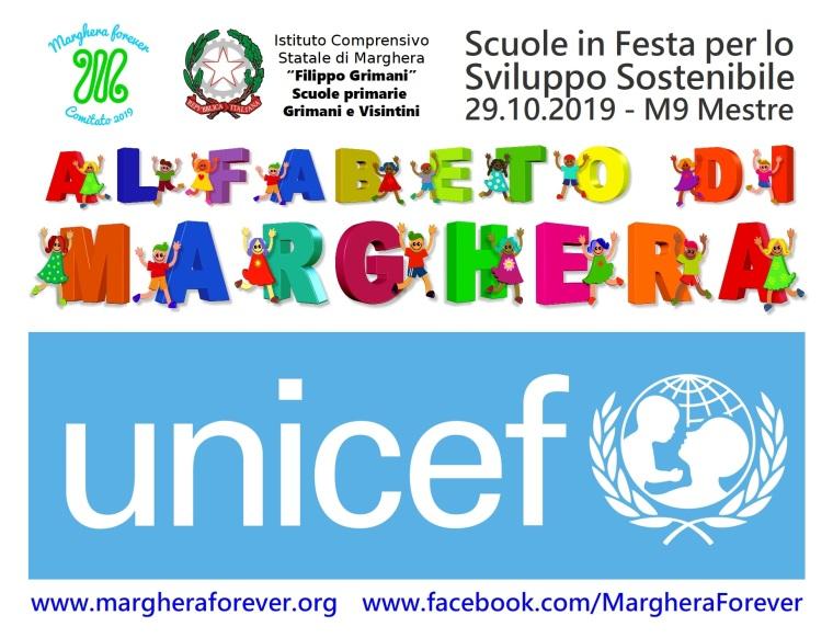 Banner Comitato Marghera forever UNICEF - Scuole in Festa per lo Sviluppo Sostenibile Alfabeto di Marghera - Evento M9 29 ottobre 2019.jpg