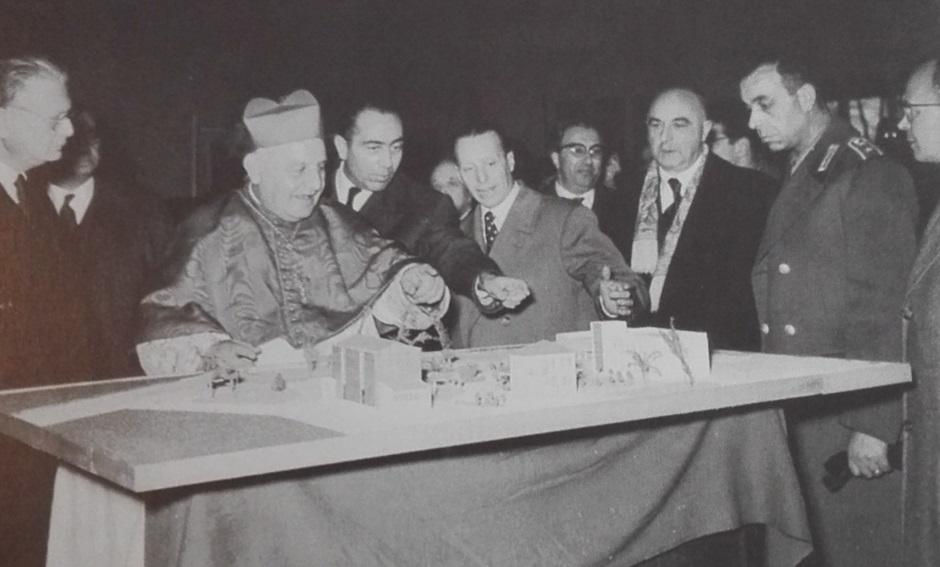 Marghera 1957 patriarca A. G. Roncalli Centro Mariport